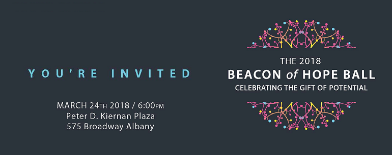 You're Invited to the Beacon of Hope Ball on March 24th, 2018!