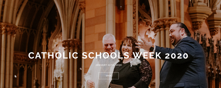 2020 Catholic Schools Week Liturgy photos